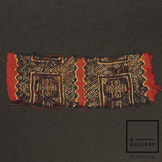 Фрагмент коптской ткани, IV-V вв. н.э.