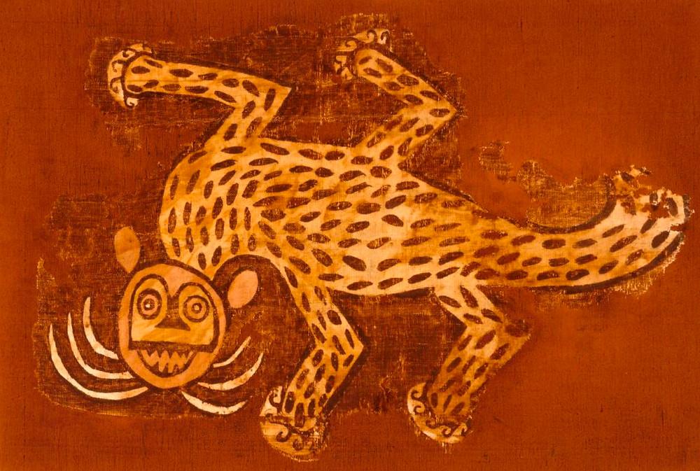 Фрагмент ткани. Перу, 800-1450 гг. н.э. Коллекция Музея изобразительных искусств Хьюстона.