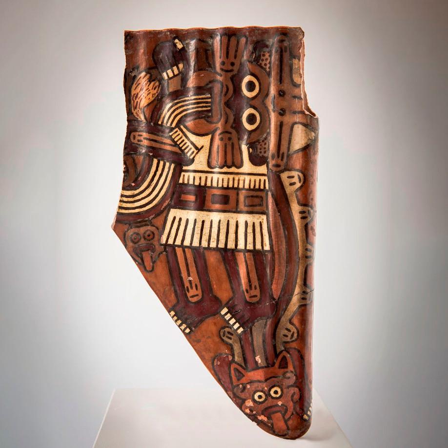 Флейта. Культура Наска, Перу, 200-600 гг. н.э. Коллекция Музея этнологии MARKK, Гамбург.