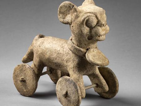 """Древние """"игрушки"""" на колесах в Мезоамерике. Подлинники или фальшивки?"""