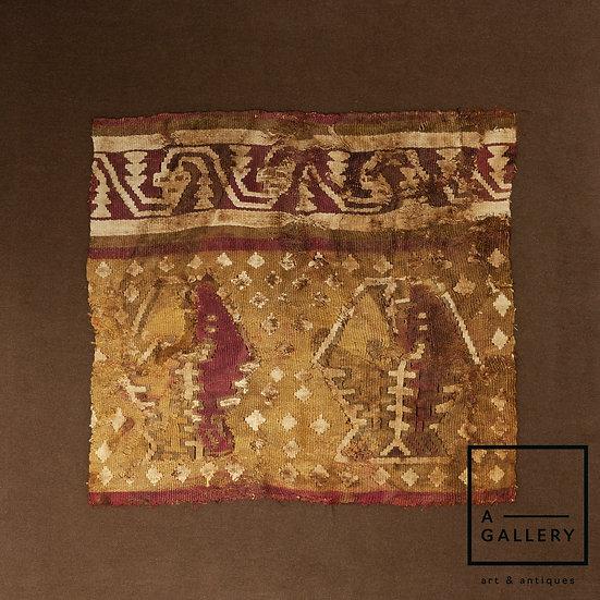 Фрагмент ткани, Чанкай (1100-1400 гг. н.э.)