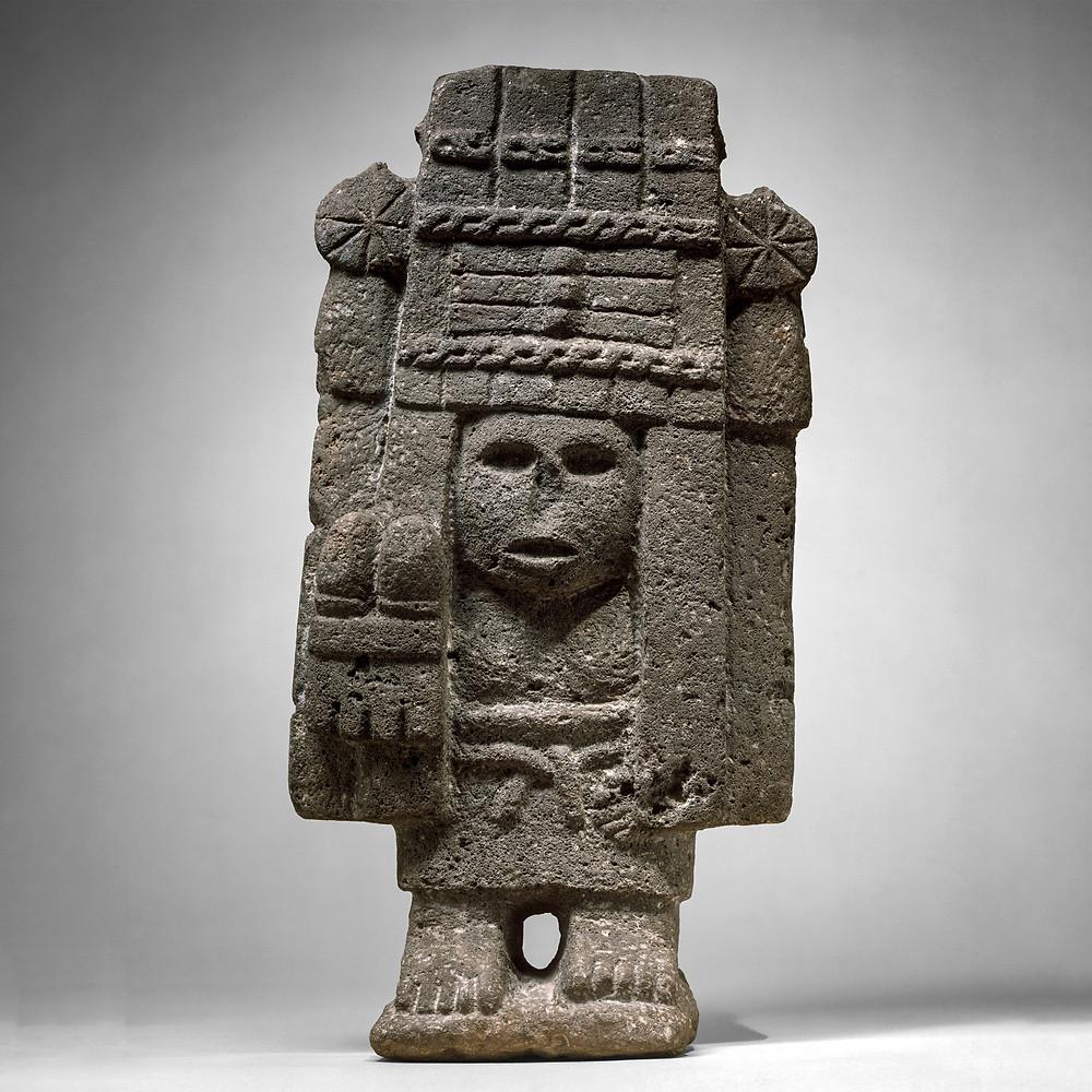 Чикомекоатль. Ацтеки, XV-XVI вв. Коллекция Metropolitan Museum of Art.