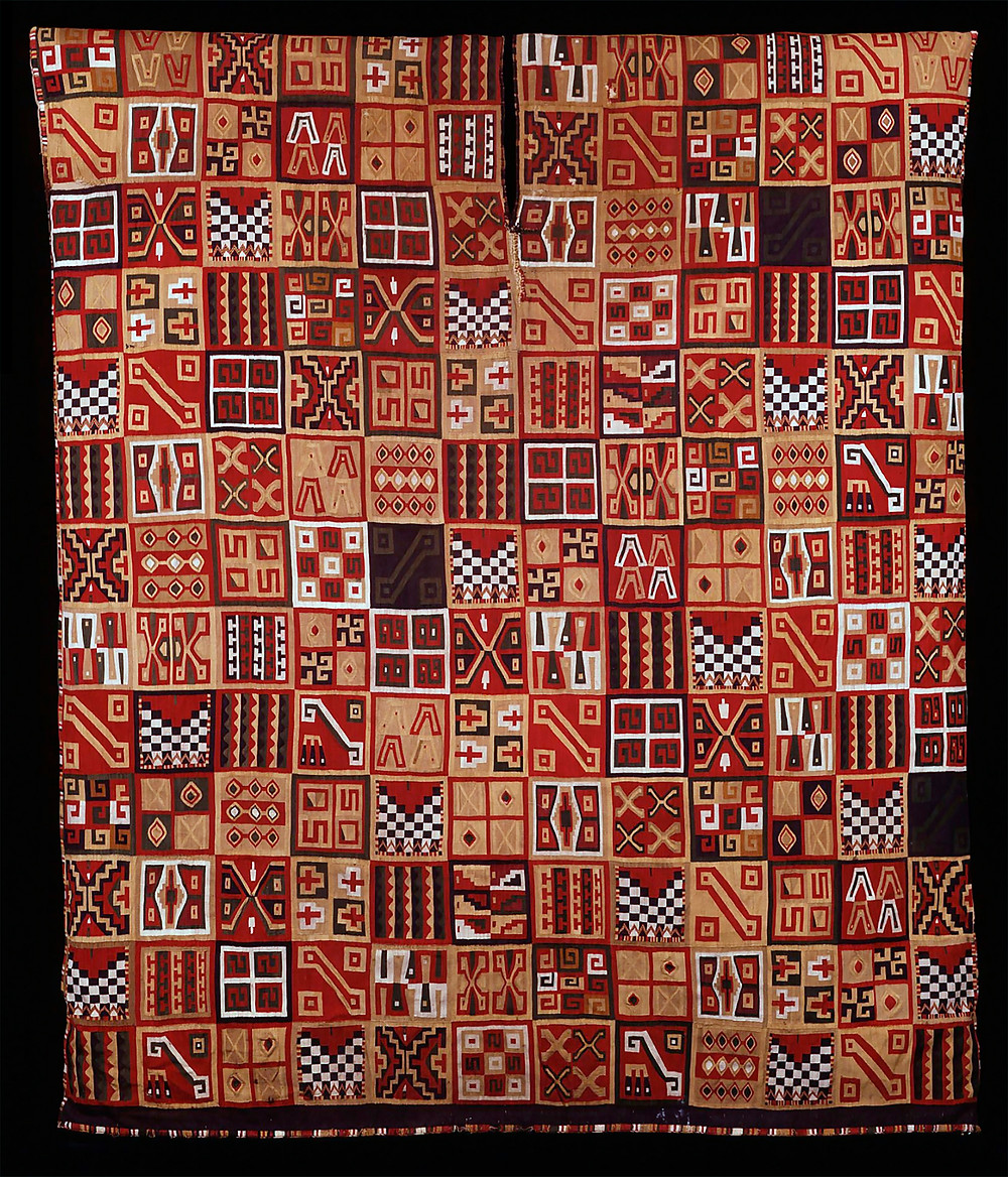 Туника всех токапу. Инки, 1450-1540 гг. н.э. Коллекция Dumbarton Oaks, Washington.