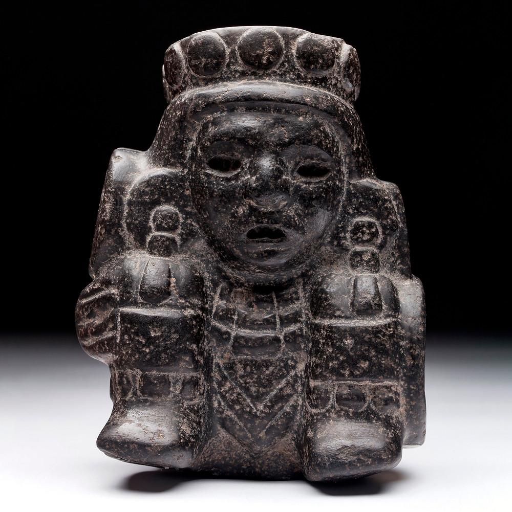 Тескатлипока. Мексика, 1325-1521 гг. н.э. Коллекция Museo Nacional de Antropologia, Мехико.