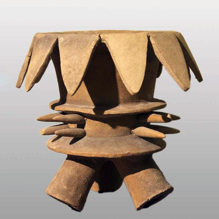 Жаровня. Ацтеки. Коллекция Israel Museum, Jerusalem.