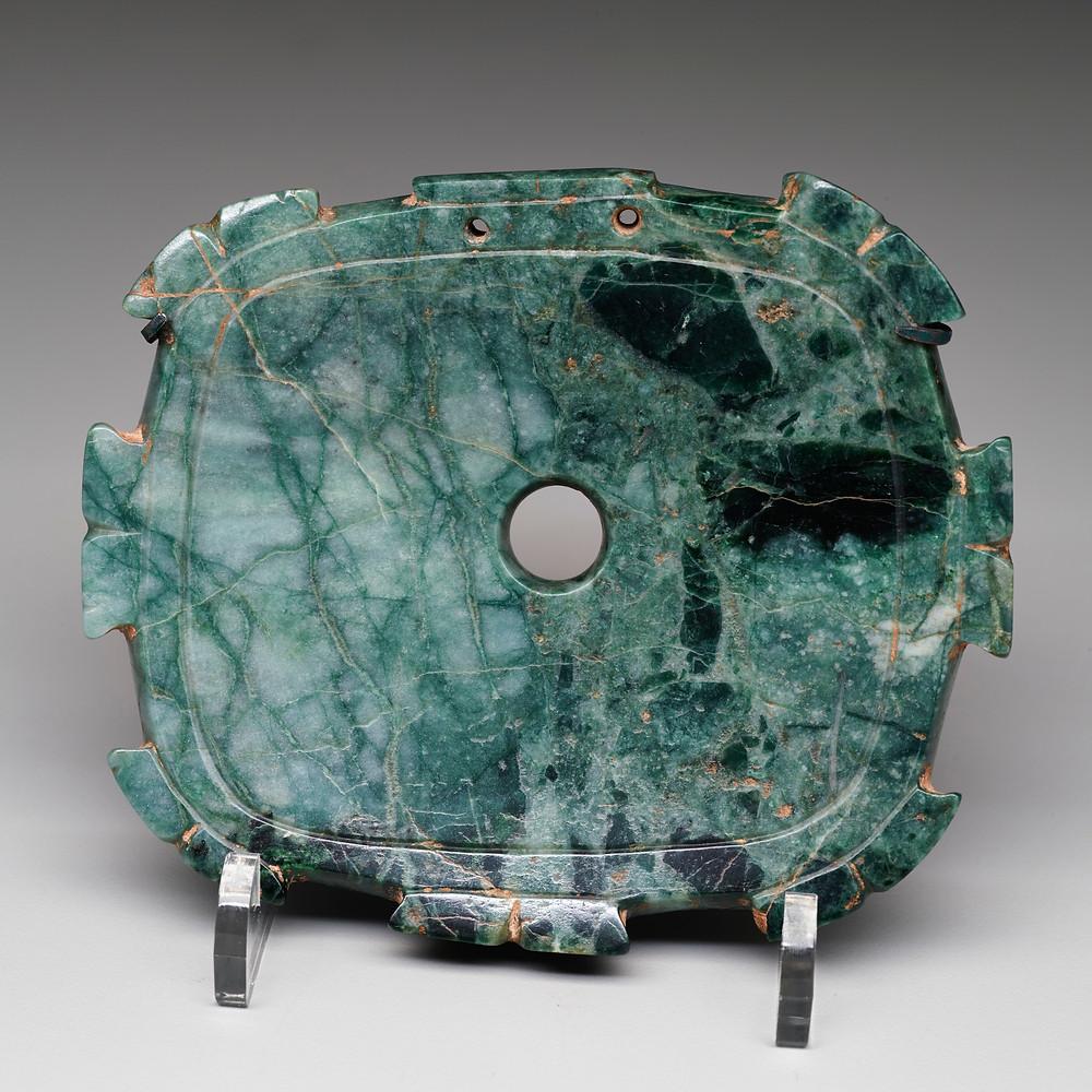 Пектораль. Ольмеки, 1200-400 гг. до н.э. Коллекция Dallas Museum of Art.
