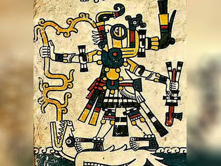Мексиканская легенда о том, как бог штормов украл у богини земли молнии