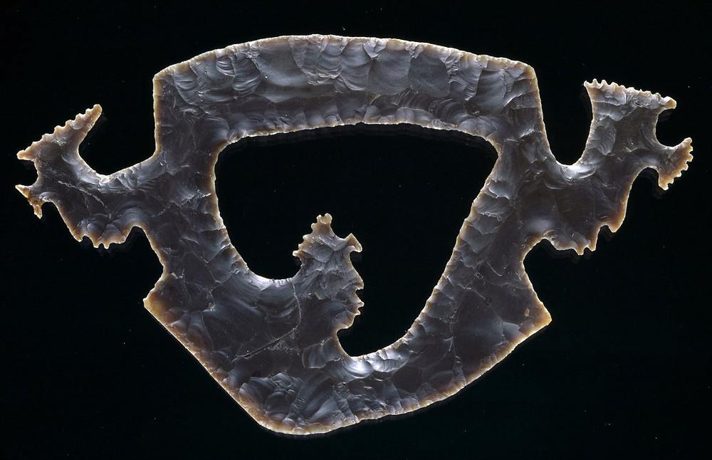 Изображение портала в подземный мир. Майя, 500-800 гг. н.э. Коллекция Dallas Museum of Art.