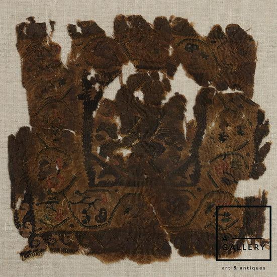 Фрагмент коптской ткани, IV-VI вв. н.э.
