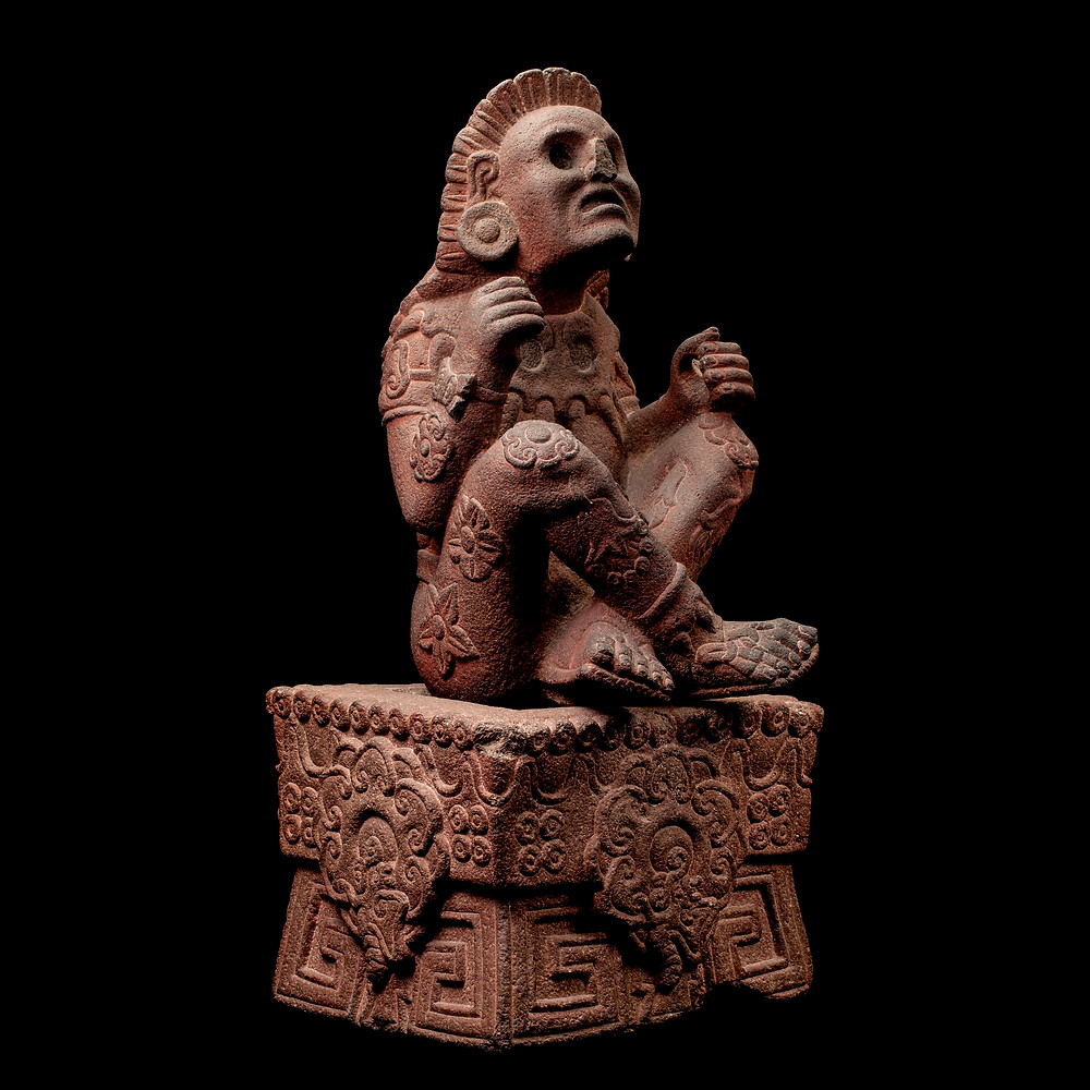 Шочипилли. Мексика, 1250-1500 гг. н.э. Коллекция Museo Nacional de Antropología, Mexico.