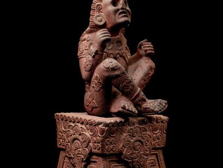 Удивительная скульптура Шочипилли из собрания Museo Nacional de Antropología, Mexico