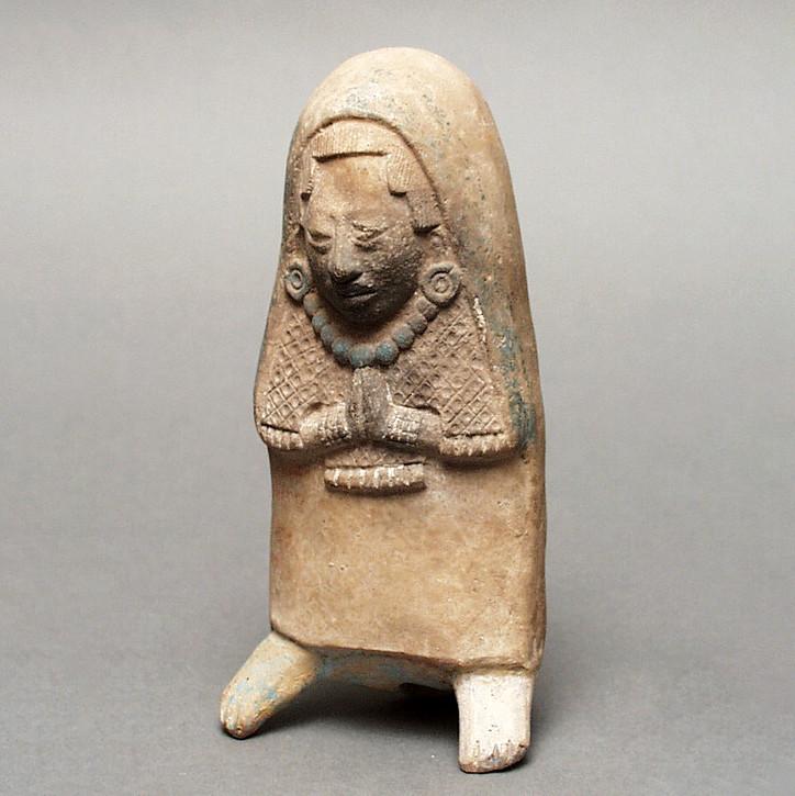 Свисток в виде женщины. Майя, 500-800 гг. н.э. Коллекция Los Angeles County Museum of Art.