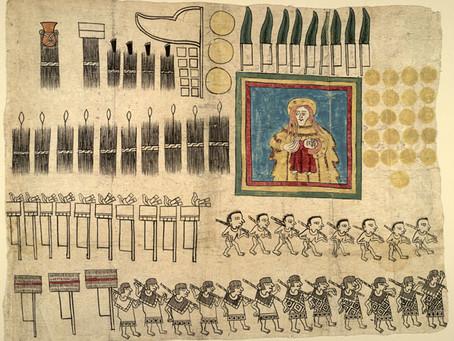 Из чего и как ацтеки делали бумагу