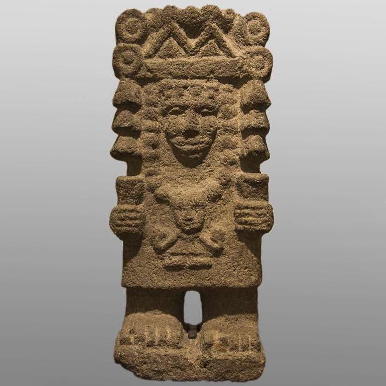 Тласолтеотль. Ацтеки, 1325-1521 гг. н.э. Коллекция The Israel Museum, Jerusalem