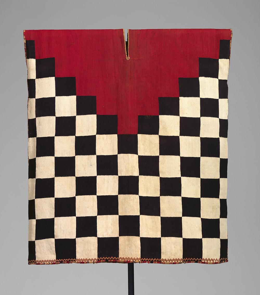Туника. Инки, 16 в. н.э. Коллекция Metropolitan Museum of Art.