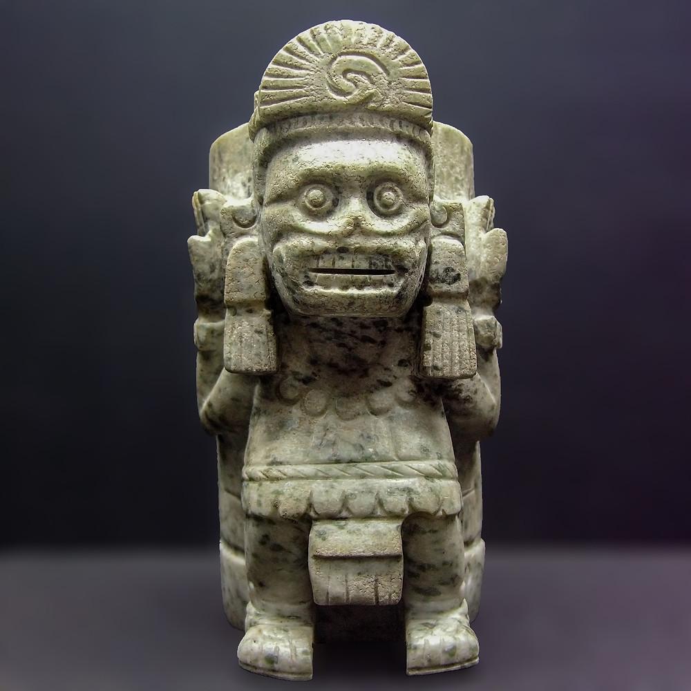 Миктлантекутли. Ацтеки, примерно 1500 гг. н.э. Коллекция Museo del Templo Mayor, Mexico.