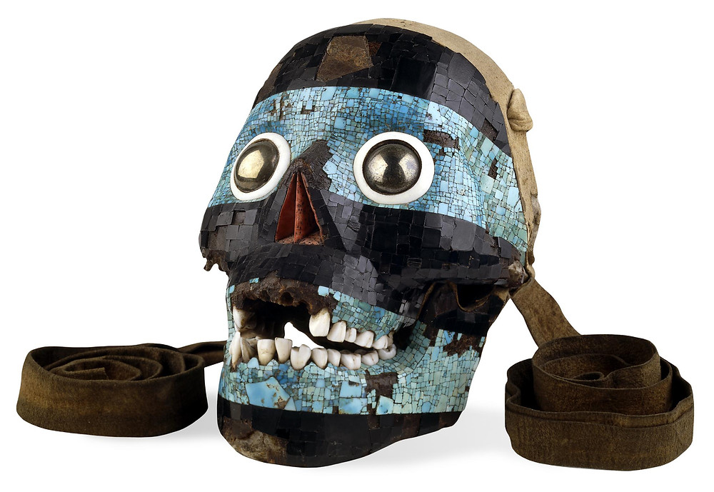 Тескатлипока. Ацтеки, 1400-1521 гг. н.э. Коллекция The British Museum.