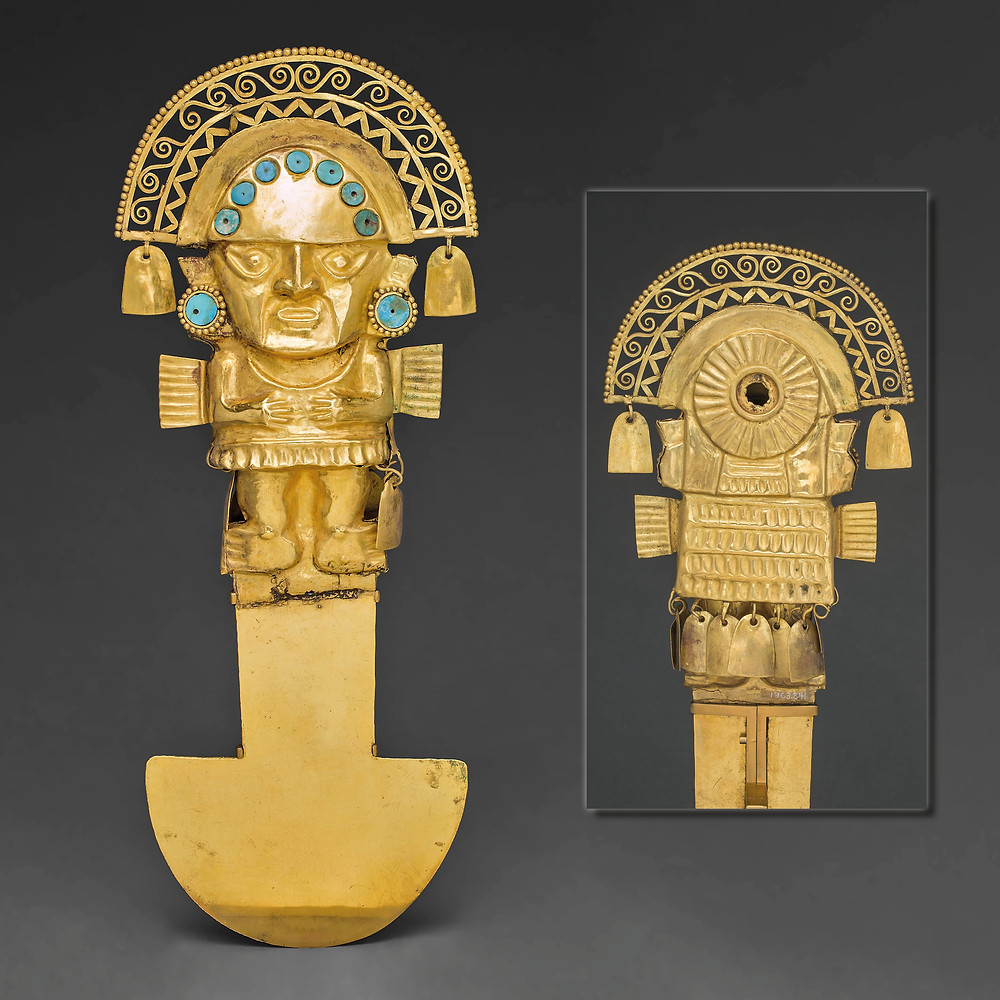 Туми. Чиму, 1100-1470 гг. н.э. Коллекция Art Institute Chicago.