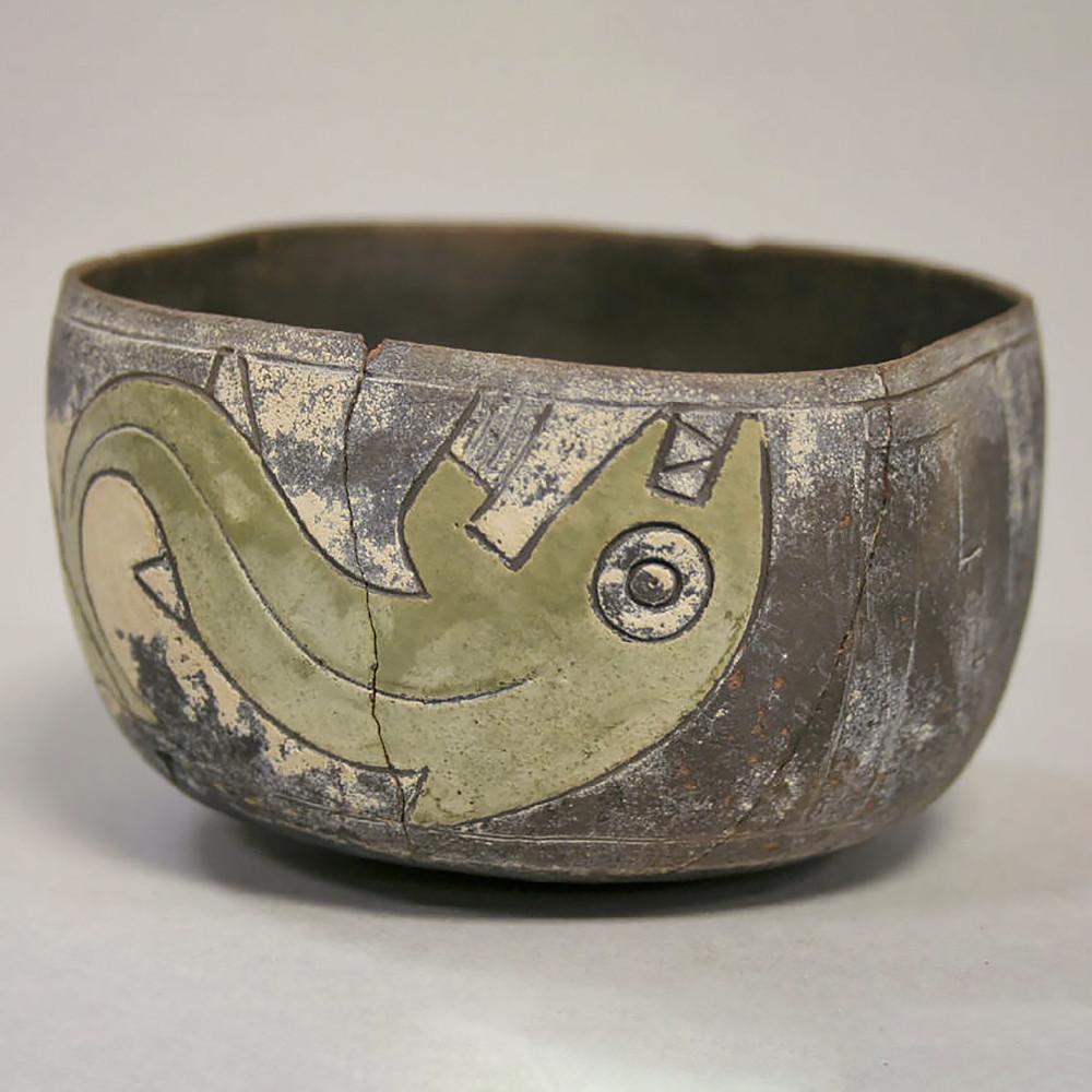 Чаша. Паракас, 6-4 вв. до н.э. Коллекция Metropolitan Museum of Art.