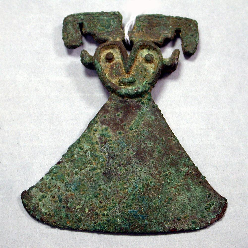 Туми. Викус (?), 3 в. до н.э. - 2 в. н.э. Коллекция The Metropolitan Museum of Art, New York.