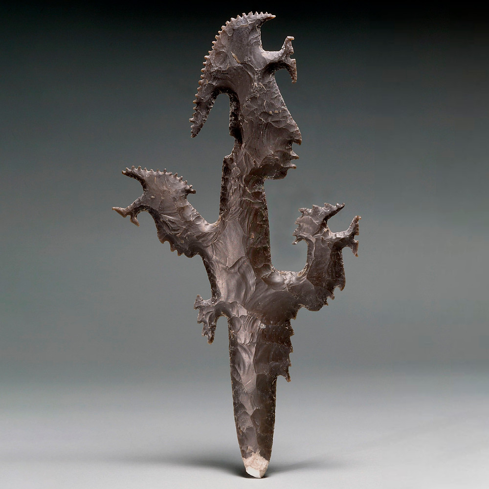 Навершие. Майя, 600-700 гг. н.э. Коллекция Dumbarton Oaks Research Library and Collection, Вашингтон.