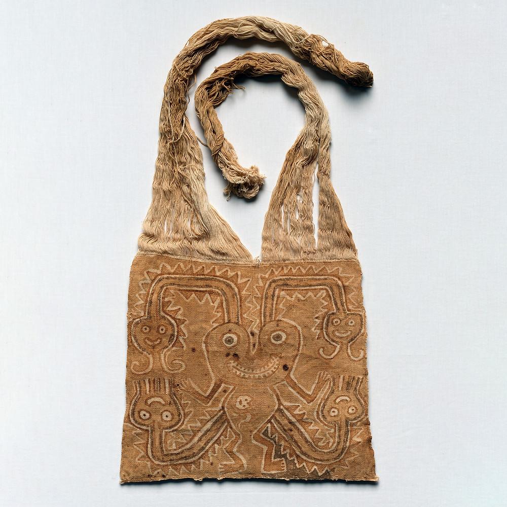 Маска мумии. Культура Паракас, 700 гг. до н.э. - 1 гг. н.э. Коллекция The Cleveland Museum of Art.