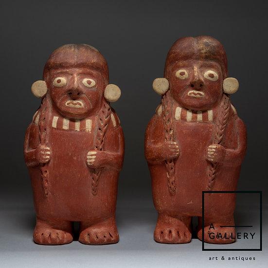 Пара фигур, Моче/Уари (примерно 800 гг. н.э.)