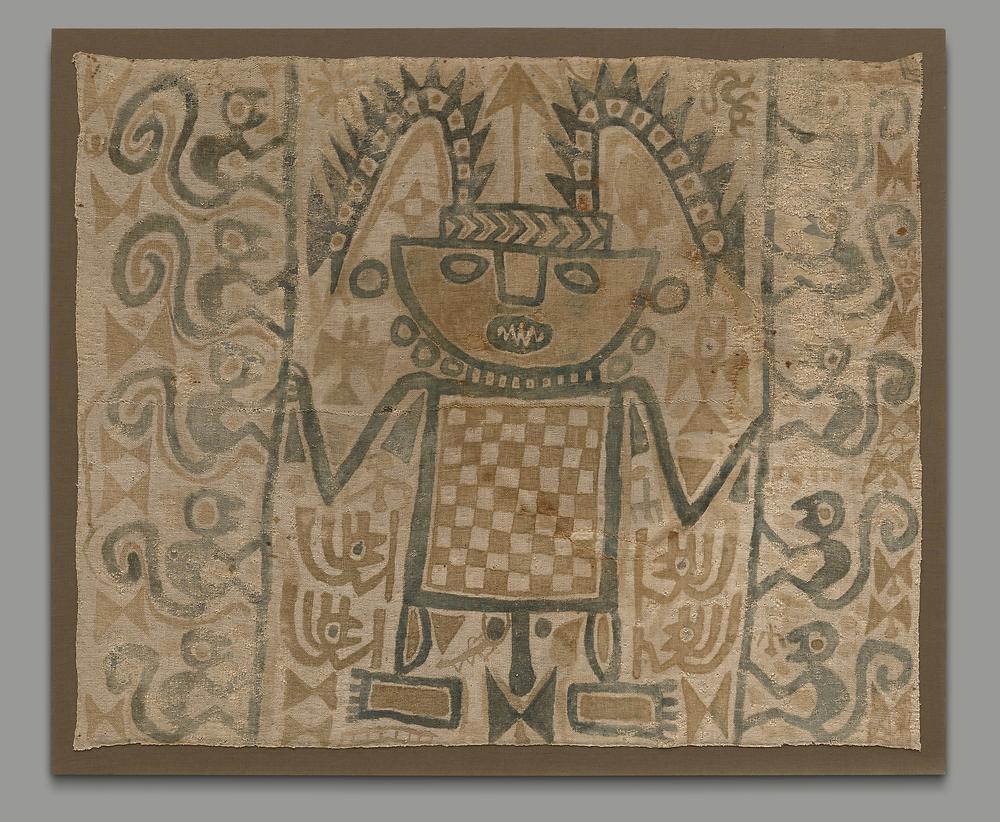 Ткань, Перу, Чанкай/Чиму, 800-1200 гг. н.э. Коллекция The Yale University Art Gallery, New Haven, Connecticut.