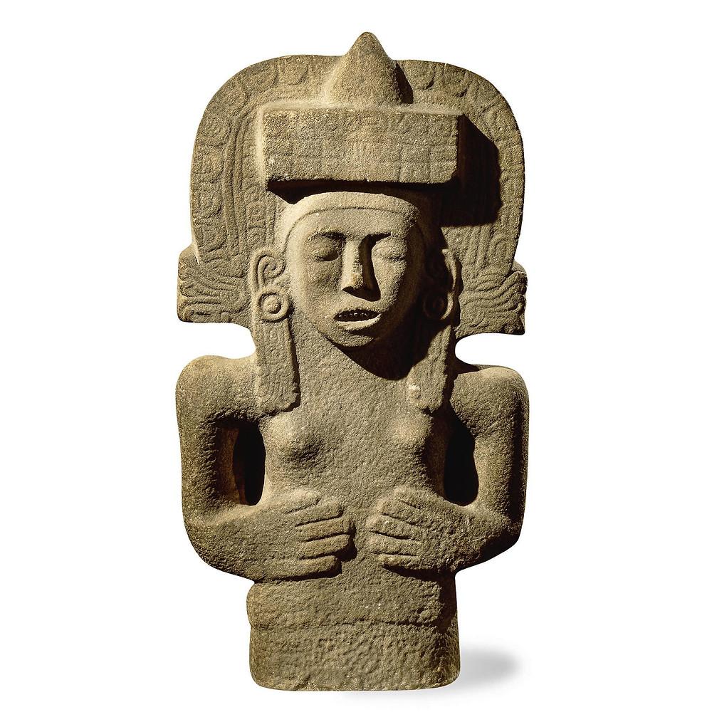 Тласольтеотль - Ишкуина. Уастеки, 900-1521 гг. н.э. Коллекция The British Museum.