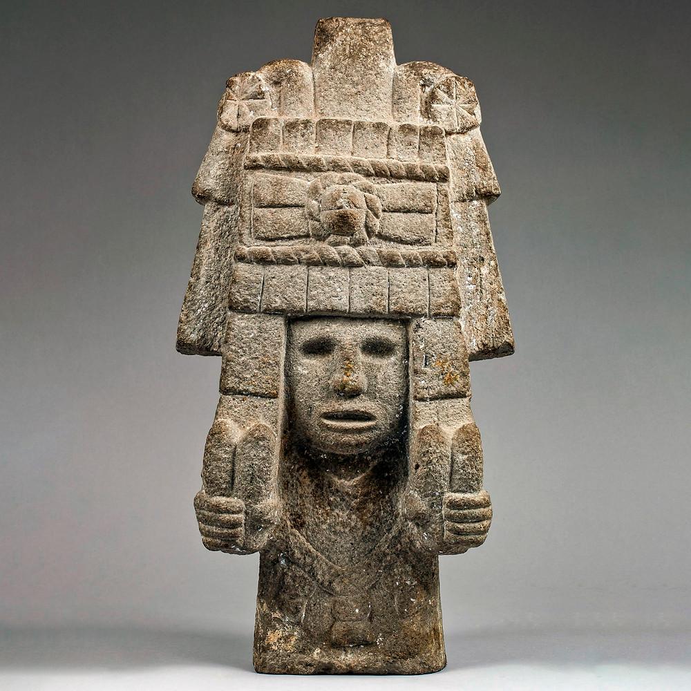 Богиня кукурузы. Ацтеки, 1500 гг. н.э. Коллекция National Museum of Mexican Art, Чикаго.