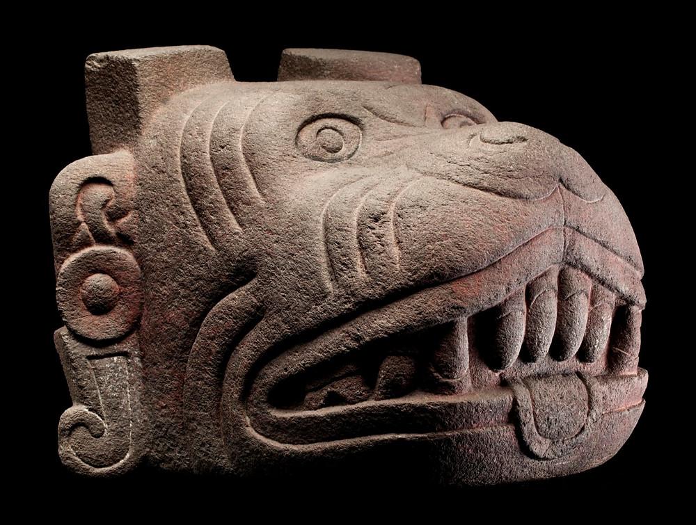 Шолотль. Ацтеки, 1325-1521 гг. н.э. Коллекция Museo Nacional de Antropología, México.