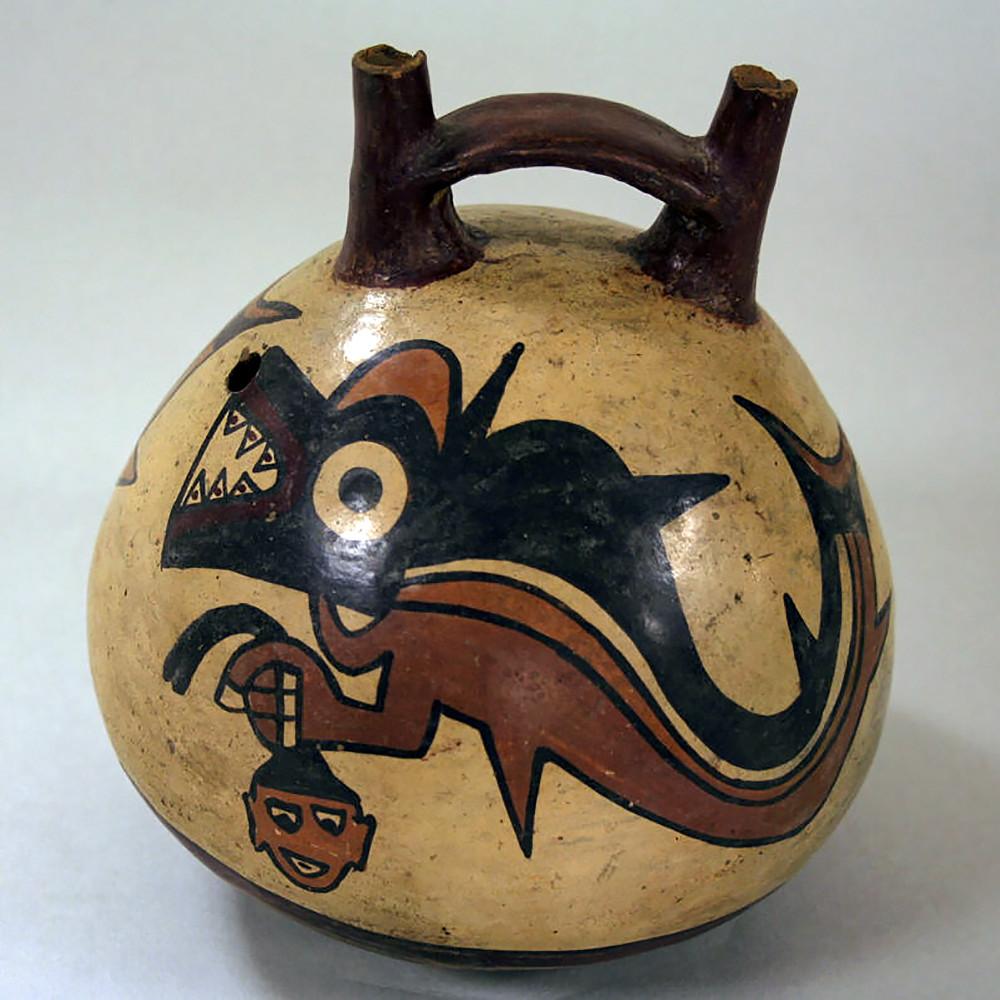 Сосуд. Наска, 1-6 вв. н.э. Коллекция Metropolitan Museum of Art.