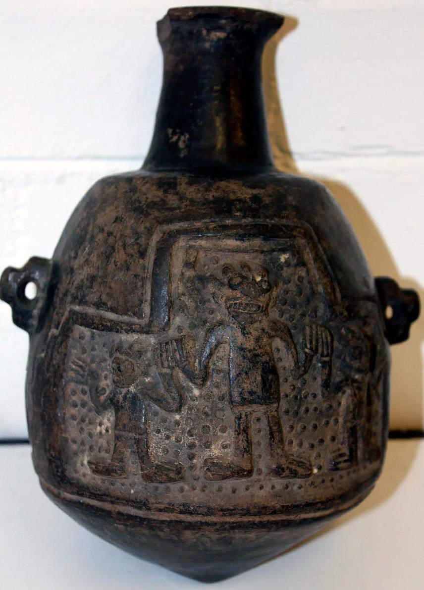 Сосуд. Чиму-Инки, 1470-1660 гг. н.э. Коллекция The British Museum.