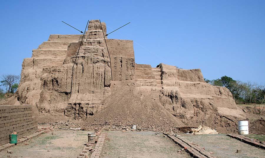 Пирамида в Ла Джойя, Мексика. Annick Daneels. Rescue Excavations at the site of Tumilaca la Chimba, 2006.