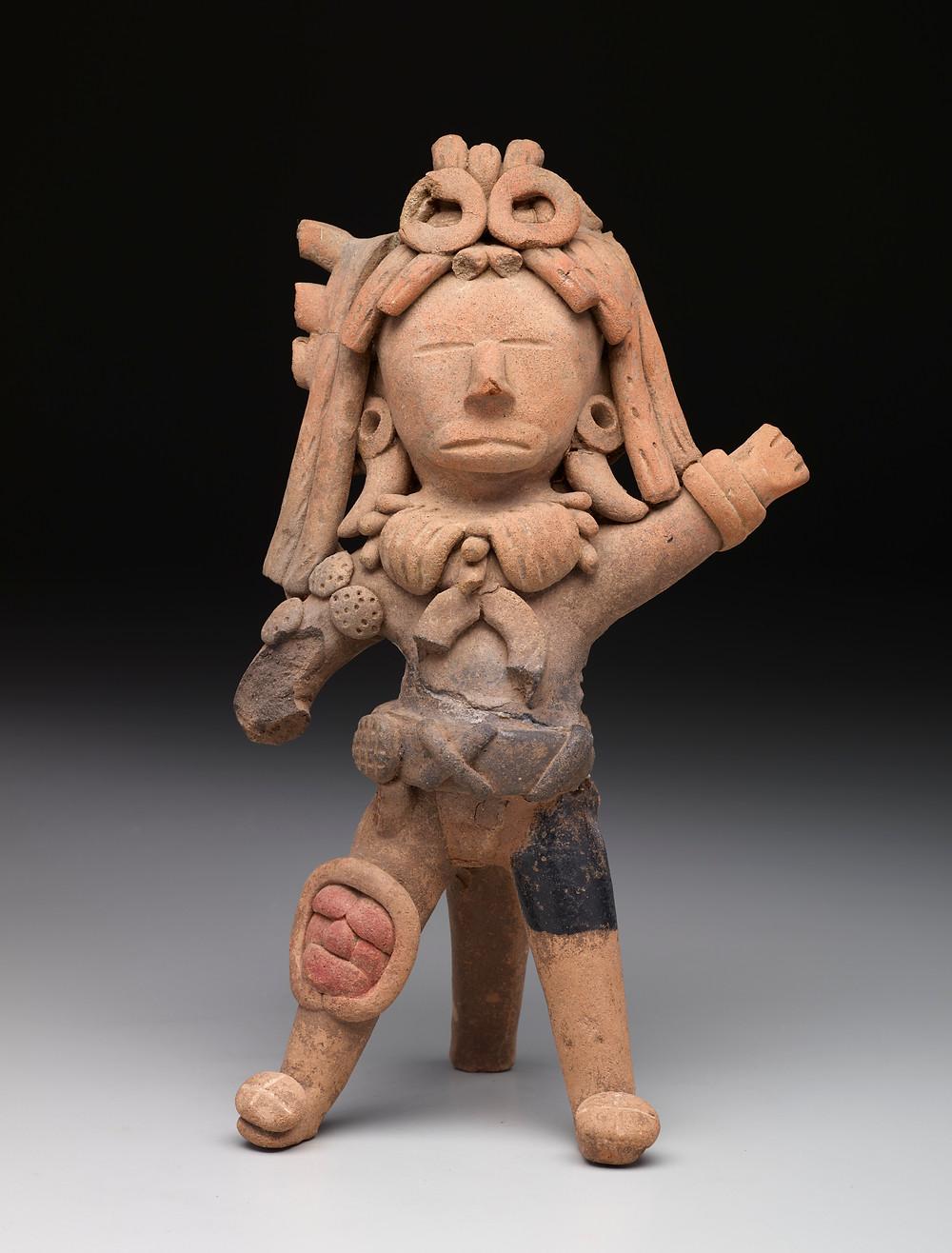 Игрок в мяч, Веракрус, 150 – 300 гг. н.э. Коллекция Dallas Museum of Art.