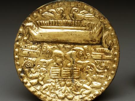 Между мирами: символика сцены добычи раковин в искусстве индейцев Андского региона