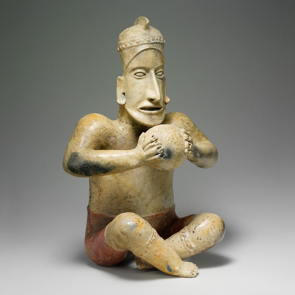 Игрок в мяч, Халиско, I в. до н.э. – III в. н.э. Коллекция The Metropolitan Museum of Art.