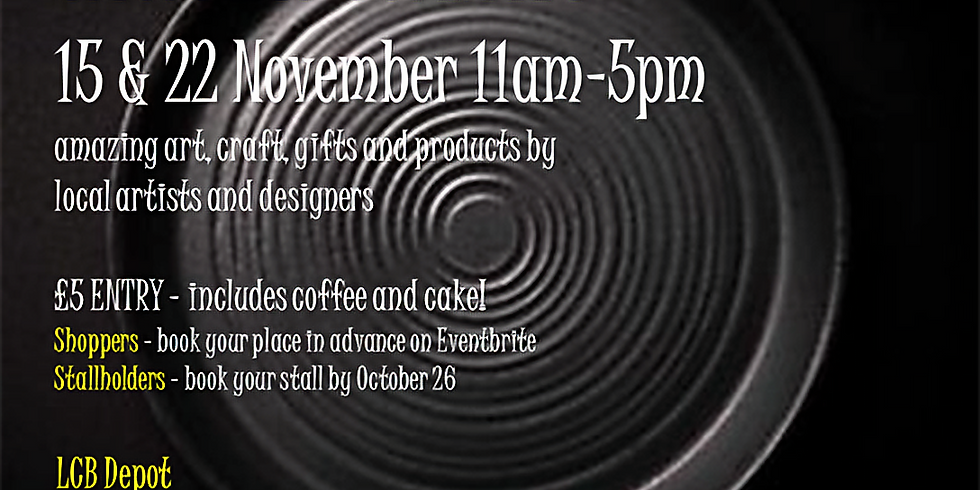 CANCELLED - Art & Makers shopping Sunday (1)