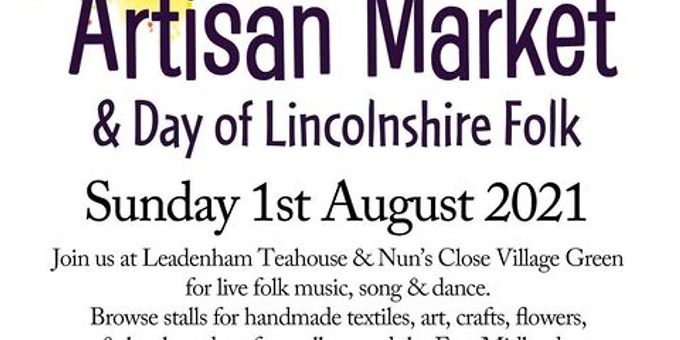Day of Lincolnshire Folk Music & Dance & Leadenham Artisan Market 2021