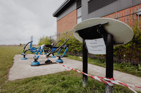 Outdoor Gym Closed