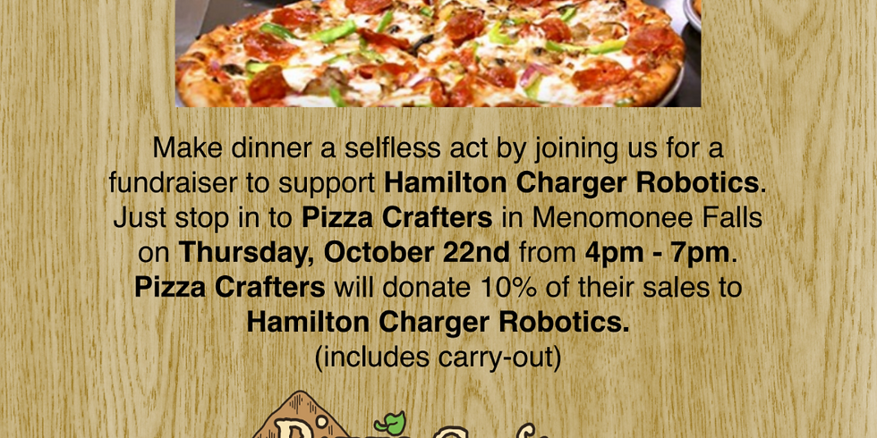 Pizza Crafters Fundraiser