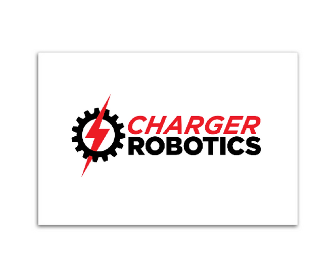 "Charger Robotics Magnet (4.0"" x 6.0"" x 0.02"")"
