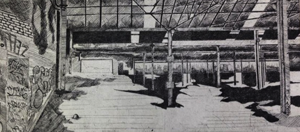 Clydeside Etching 1