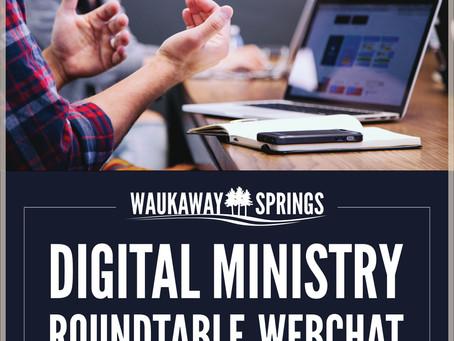 Digital Ministry?