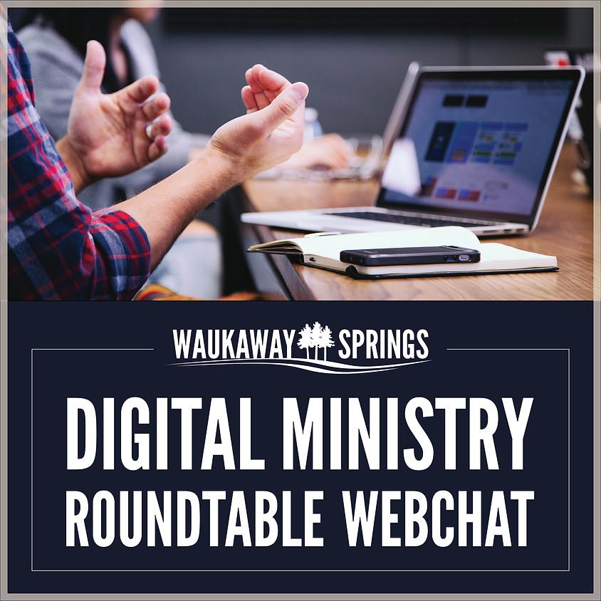 Digital Ministry Roundtable Webchat