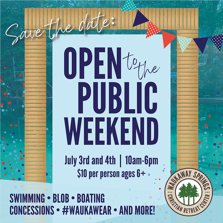 Open To The Public Weekend - Day 1