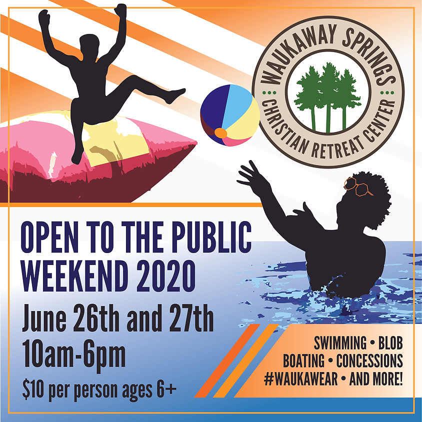 Open To The Public Weekend