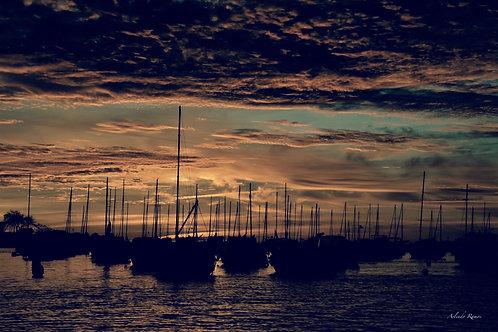 Port de Pornichet 2 Alu/dib 80 x 60 cm Prix 790€ série limitée à 57 exemplaires