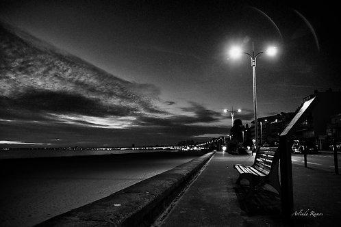 Lumière du soir sur la Baie 90 x 60 série limitée à 57 exemplaires