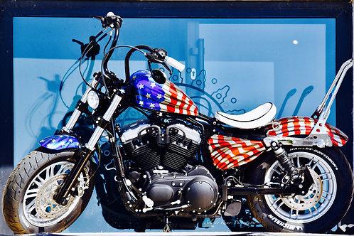Photo Harley Davidson Alu/Dibond Dimensions 90 x 60 cm